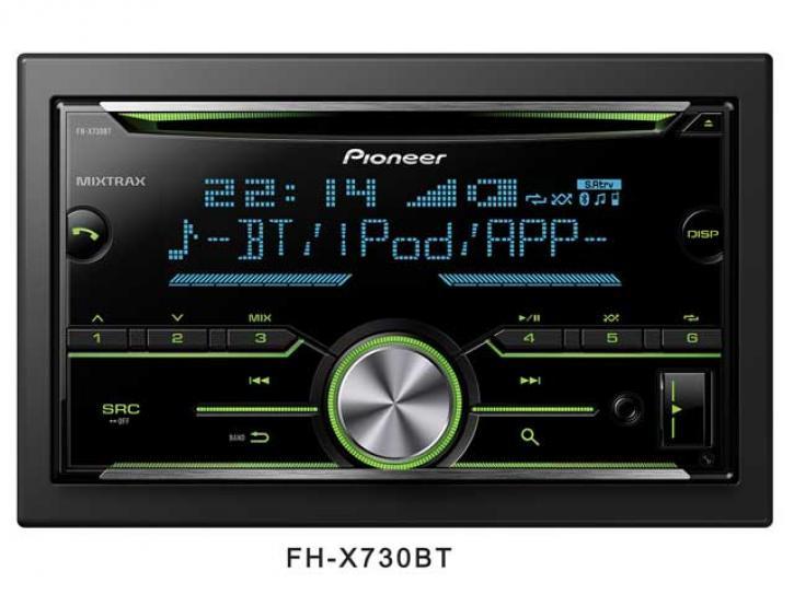 PIONEER FH-X730 Bluetooth