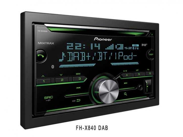 PIONEER FH-X840 DAB+