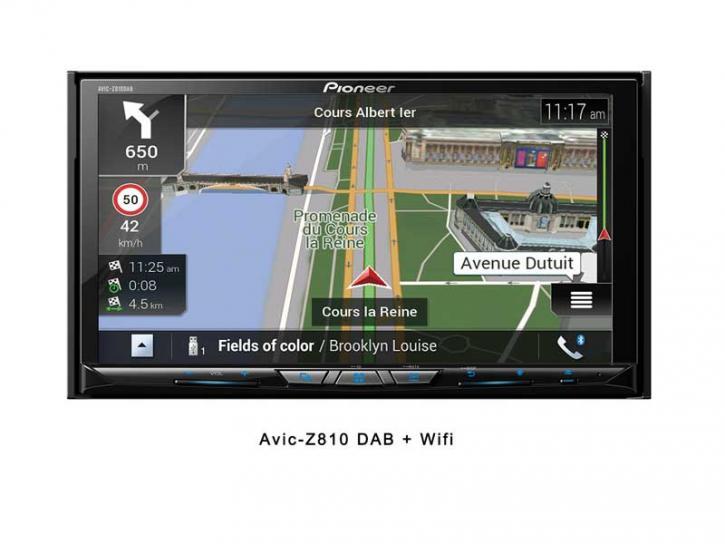 PIONEER AVIC-Z 810 DAB Wifi Caravan