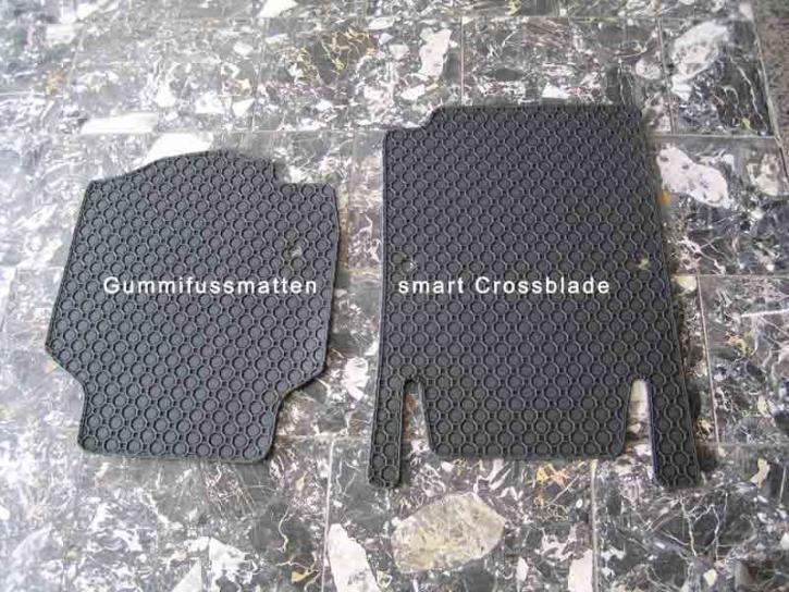 Fußmatten Gummi smart Crossblade