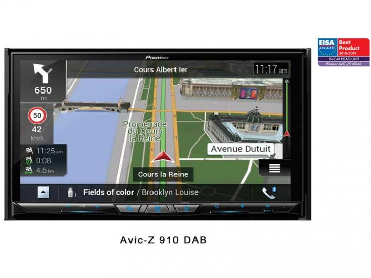 PIONEER AVIC-Z 910 DAB Wifi
