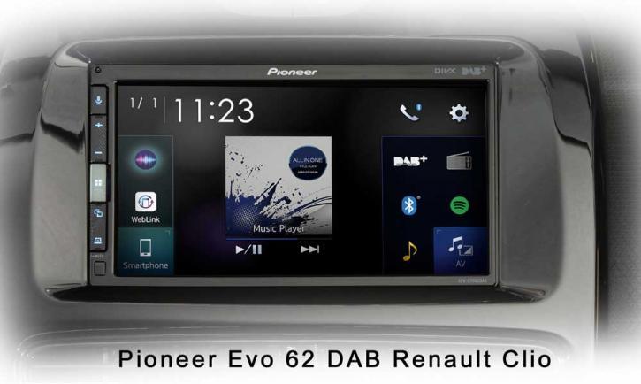PIONEER SPH-EVO 62 DAB-Renault Clio 4