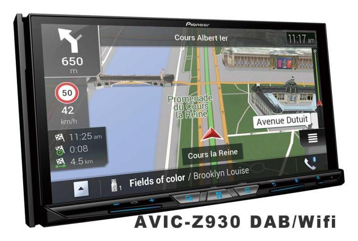 PIONEER AVIC-Z 930 DAB  Wifi