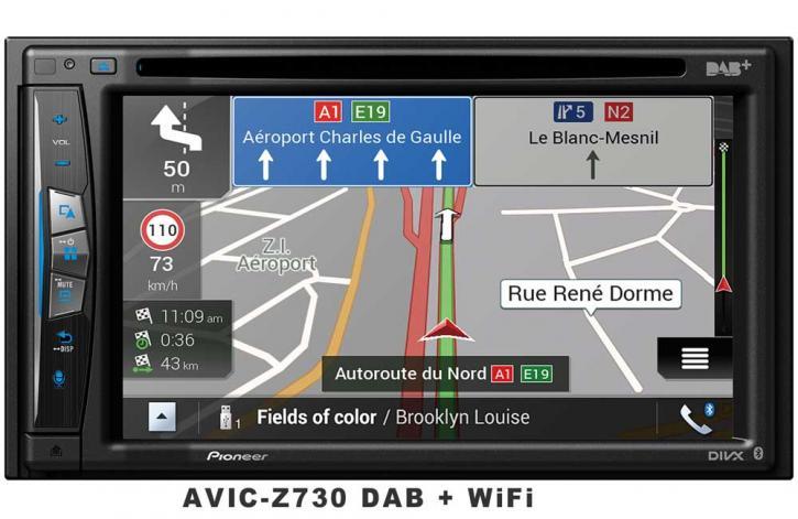 PIONEER AVIC-Z 730 DAB  Wifi