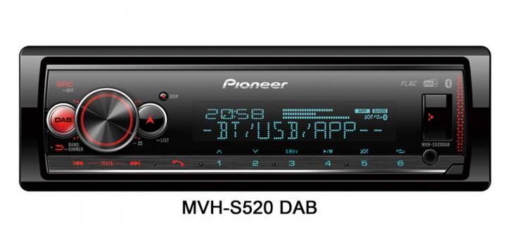 PIONEER MVH-S520 DAB