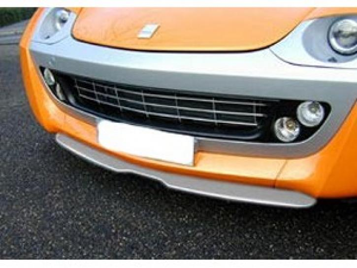 Frontspoiler4 smart Roadster silber