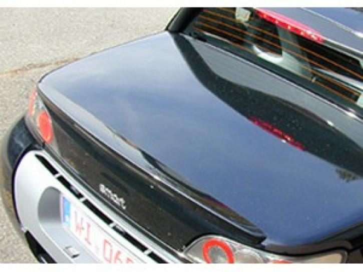 Heckspoiler dezent silber smart Roadster