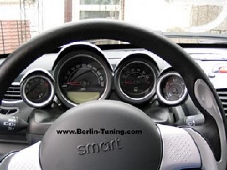 Instrumentenkit Roadster silber