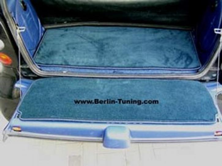 Velourteppich Kofferraum smart 450