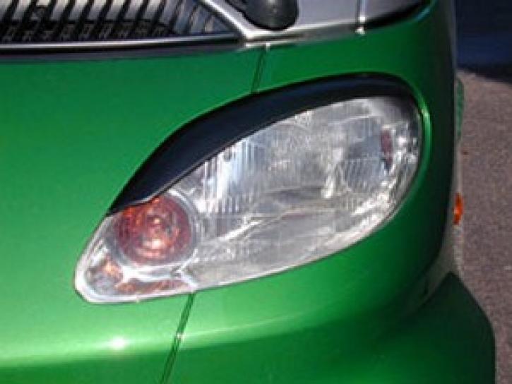 Scheinwerferblenden, boeser Blick,smart Coupe