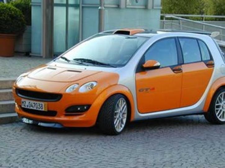 Motortuning smart forFour Diesel