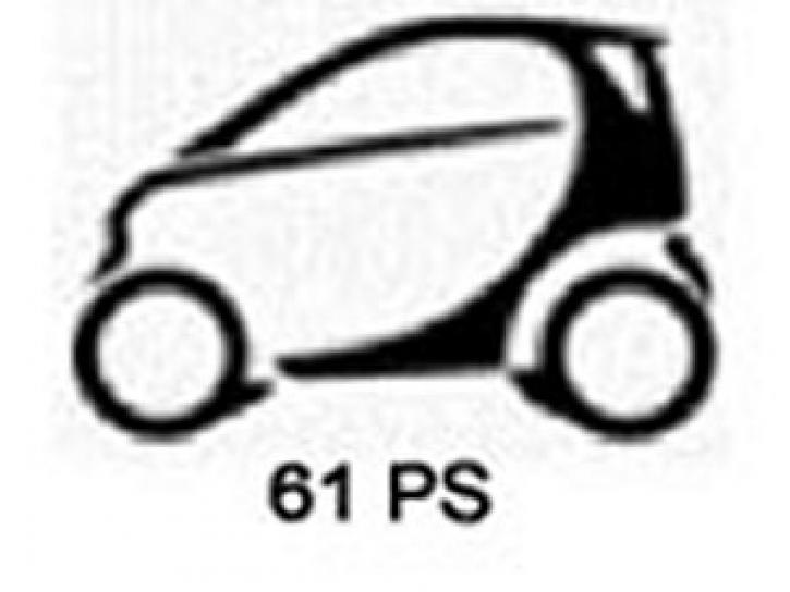 Tuning smart city coupé / 0.6 T - 45 KW