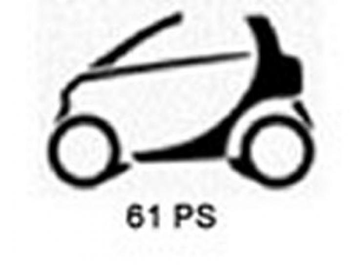 Tuning smart Cabrio 0.7 T - 45 KW