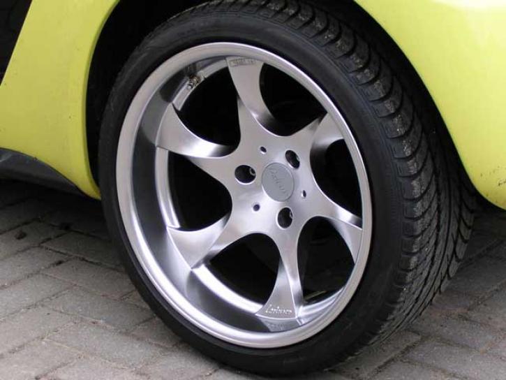 Aluminiumfelgen Roadster Speedy 17 Zoll
