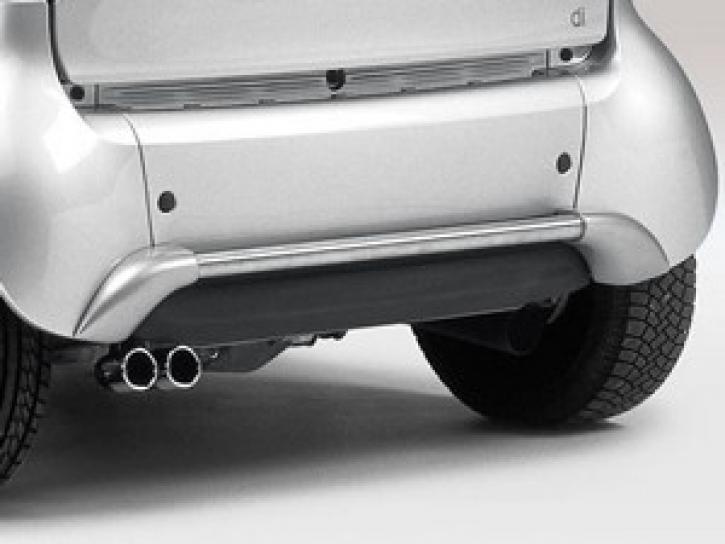Stoßfänger hinten Edelstahl smart Cabrio