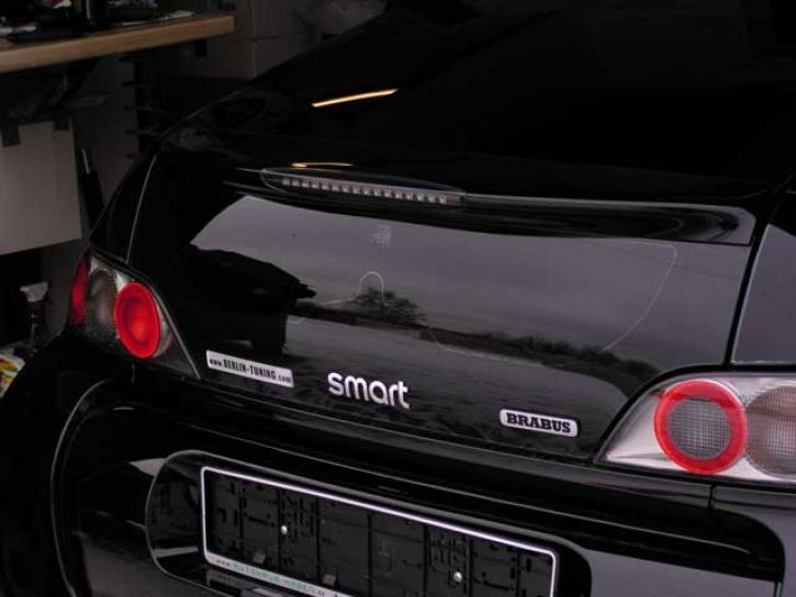 LED BREMSLEUCHTE Roadster Coupe schwarz