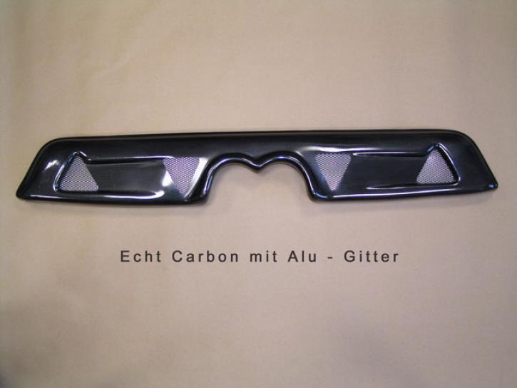 Heckschürze Echt - Carbon