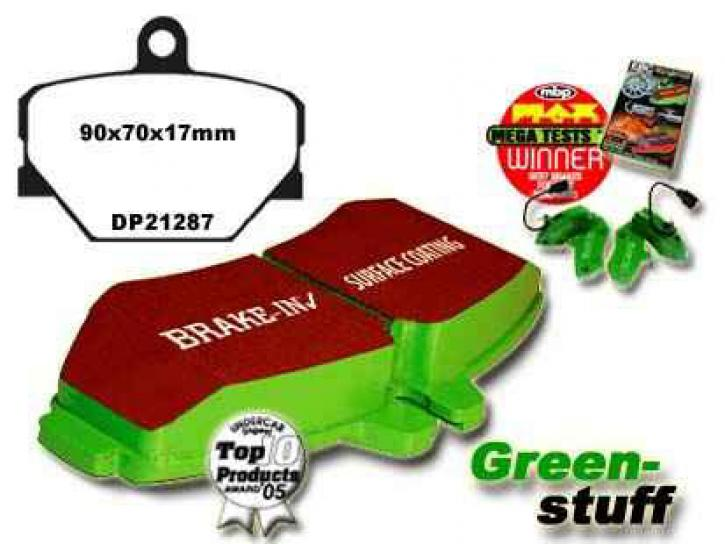 Sportbremsklötze Greenstuff