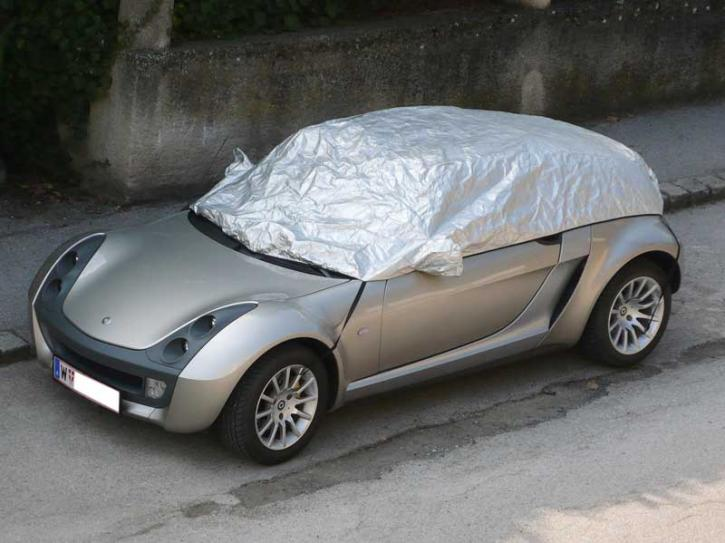 Car cover smart Roadster Coupe klein