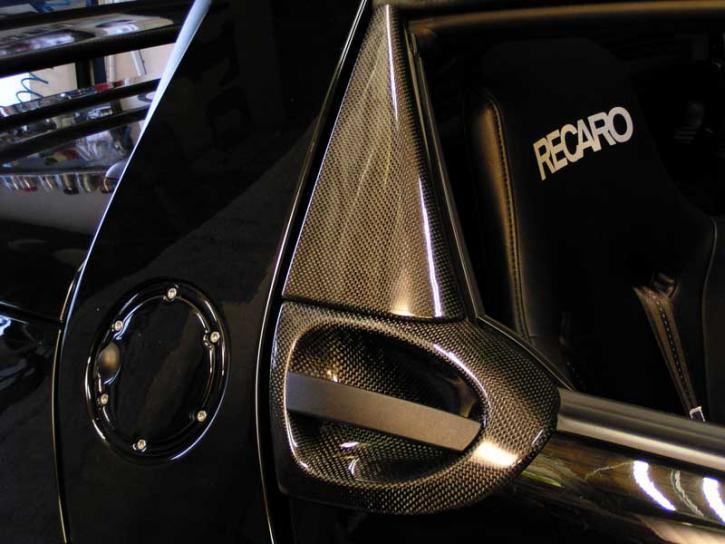 CARBON GRIFFSCHALENSET black Roadster