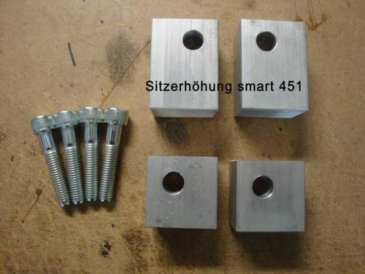SITZERHÖHUNG smart 451