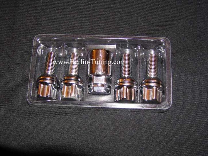 CHROM RADSICHERUNG smart 15 mm