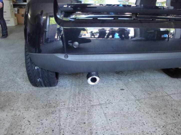 AUSPUFF ENDROHR SMART 451 Diesel oval