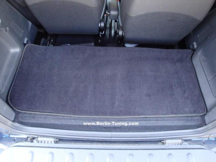 Velourteppich Kofferraum smart 451