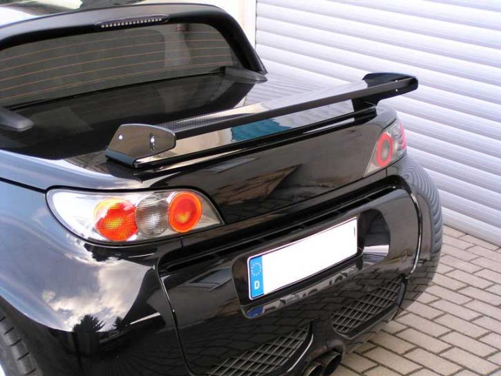 Heckflügel mit Kofferraumdeckel Roadster