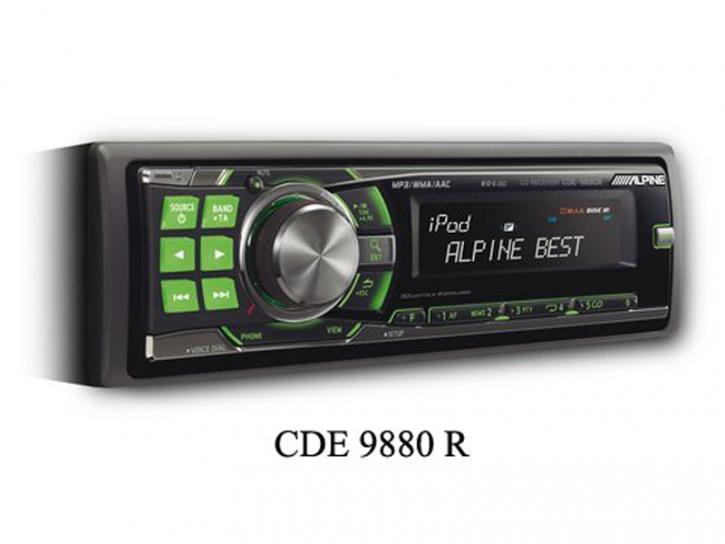 ALPINE CDE 9880 R