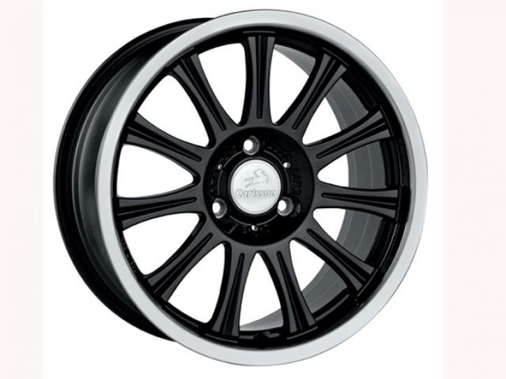 ALUMINIUMFELGEN BLACK CARLSSON smart 451