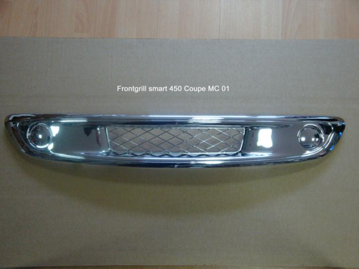 FRONTGRILL RACE smart 450 Chrom Coupe