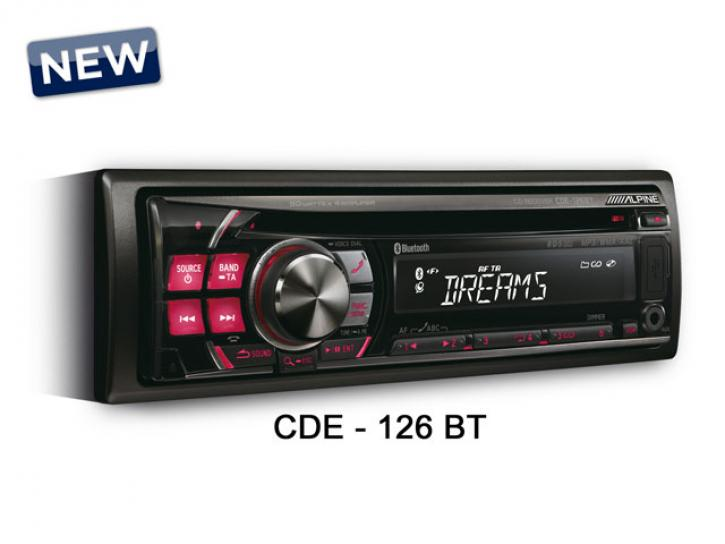 ALPINE CDE 126 Bluetooth