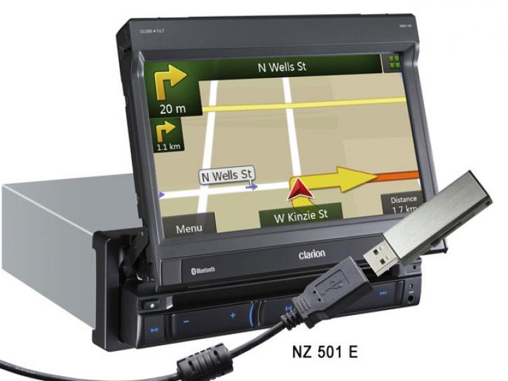 CLARION NZ 502 E  Navi