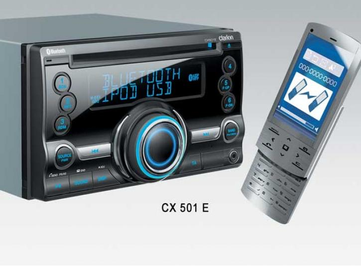 CLARION CX 501 E  Bluetooth