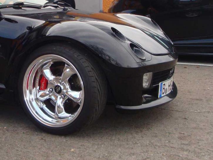 Frontspoiler Brabus smart Roadster