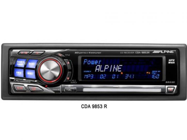 ALPINE CDA 9853 R