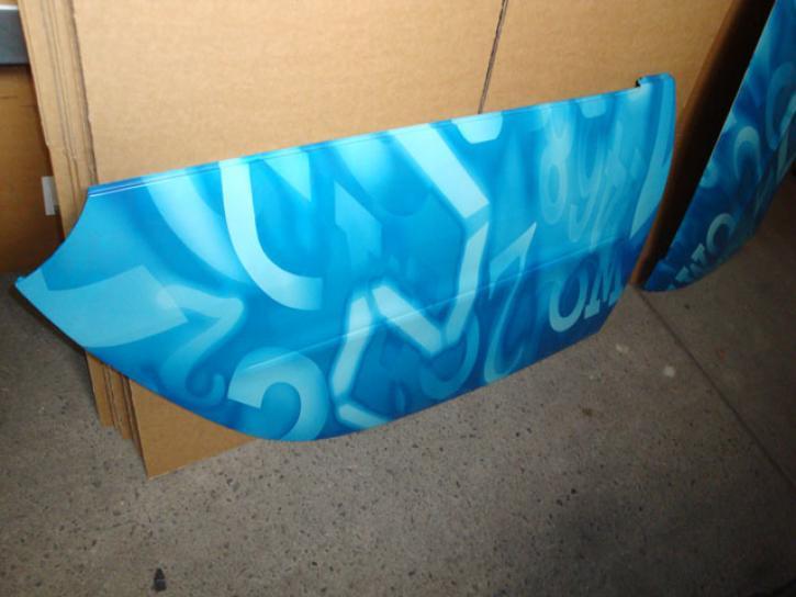 TUERPANEL NUMERIC BLUE