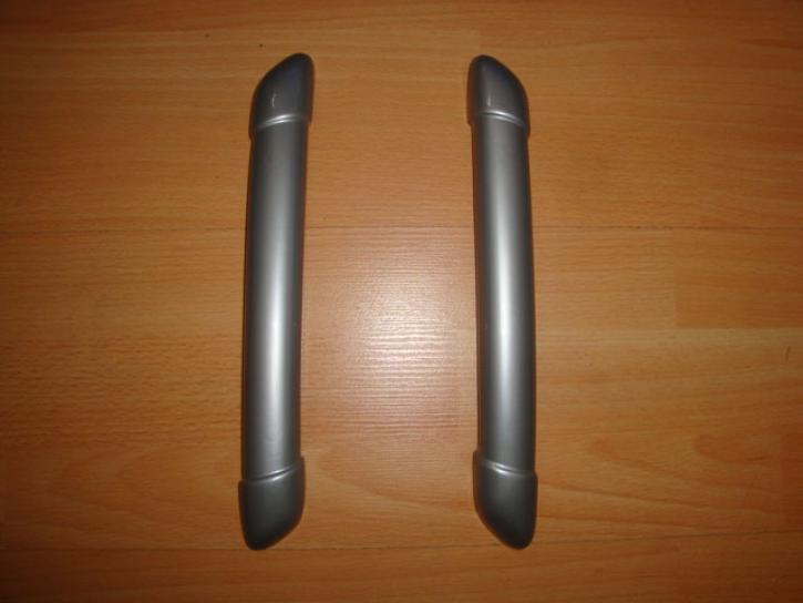 Kappen für Türgriffe silber