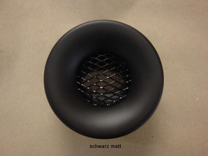 Lufteinlass schwarz matt
