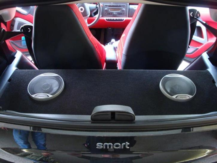 Soundboard smart 451 Coupe