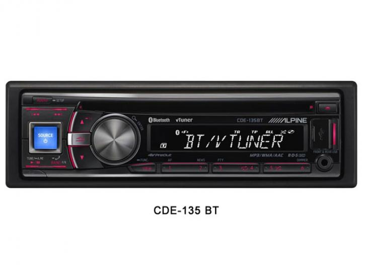 ALPINE CDE 135BT Bluetooth