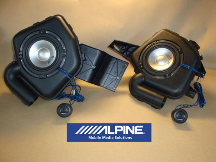 Sound-System Front smart 450 Typ 3 Alpine