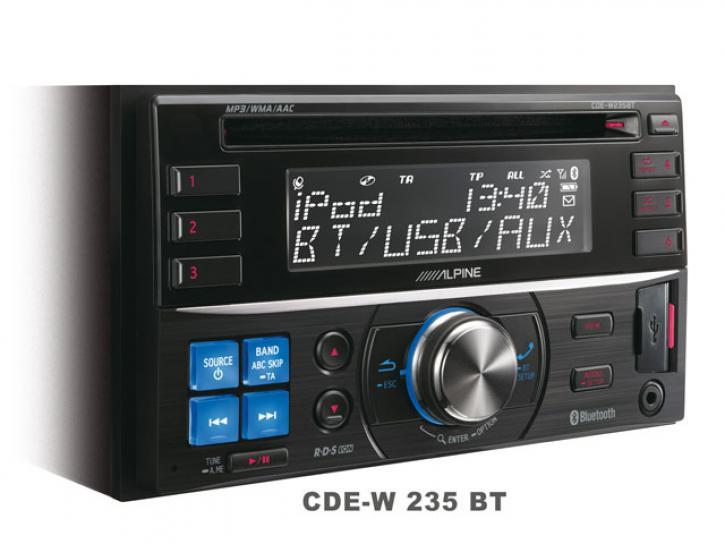 ALPINE CDE W235 BT