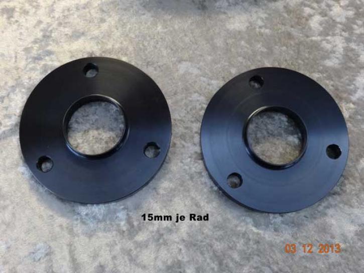 Spurverbreiterung 15mm black