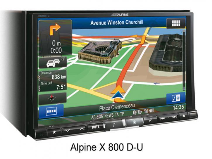 ALPINE X800 D-U
