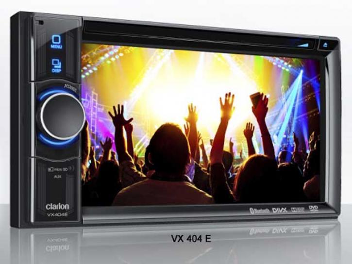 CLARION VX 404 E  Bluetooth