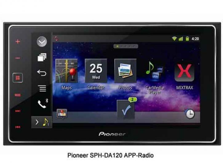 PIONEER SPH-DA120 Appradio