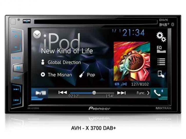 PIONEER AVH X 3700BT DAB+App+Android