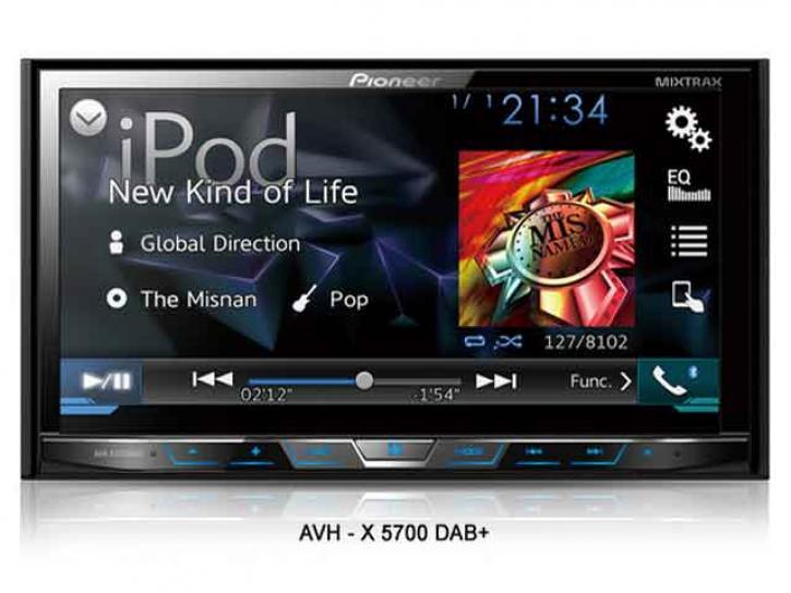 PIONEER AVH X 5700BT DAB+App+Android